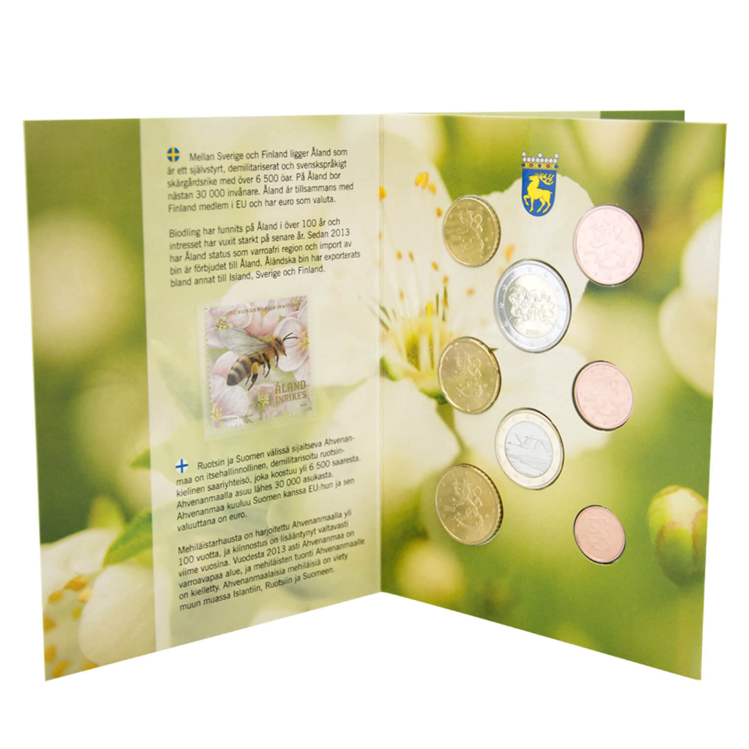 Euro Coin Set 2018 Finland Aland Aland Post Webshop